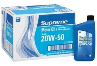 Aceite Chevron 20w-50 Mineral 946 Ml En Oferta! 36 La Caja