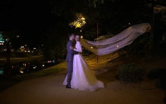 Vestido De Noiva Exclusivo - Lucas Anderi - Usado 1x