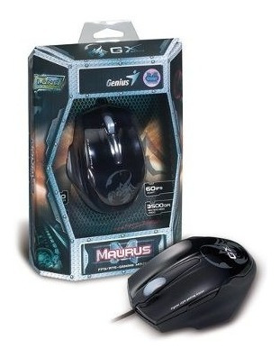 Mouse Gx Gaming Genius 31010128101 Maurus Professional Nfe