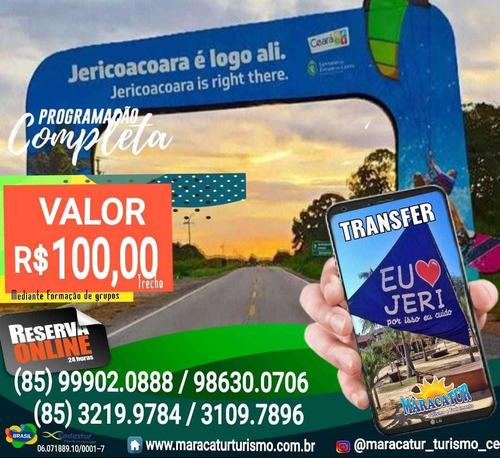Transfer Fortaleza X Jericoacoara