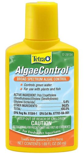 Tetra Algaecontrol 50ml Anti Algas Acuarios Mata Y Previene