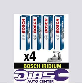 Jogo De Velas Bosch Iridium Original Audi A1 1.4 Tfsi 122 Cv