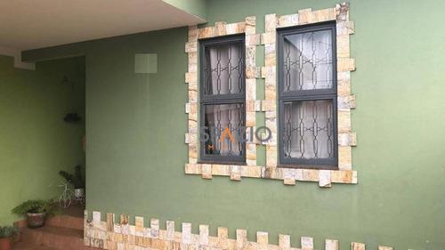 Imagem 1 de 12 de Linda Casa Com 2 Dormitórios À Venda, 95 M² Por R$ 265.000 - Jardim Bela Vista - Rio Claro/sp - Ca0461