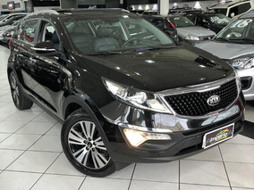 Kia Sportage Ex 2.0 (flex) (aut) Top 2015 Teto Panoramic
