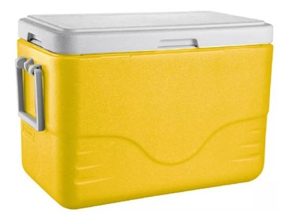Caixa Térmica Coleman 28qt - 26,5 Litros - Amarelo