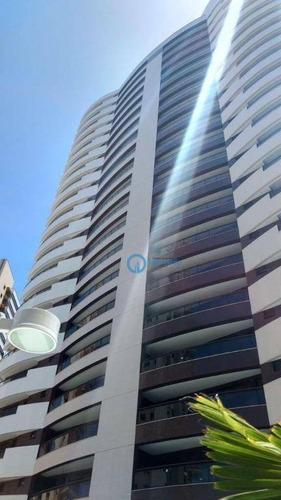 Apartamento Com 3 Dormitórios À Venda, 177 M² Por R$ 1.209.000,00 - Cocó - Fortaleza/ce - Ap0930