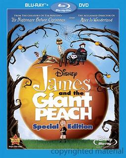 Blu-ray + Dvd James & The Giant Peach Jim Y Durazno Gigante
