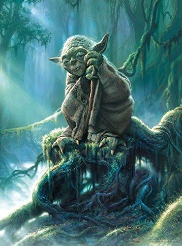 Imagen 1 de 2 de Star Wars - Colección De Bellas Artes - Yoda - Rompecabezas
