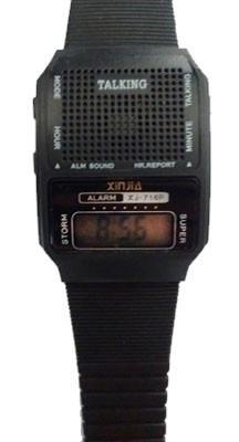 Relógio Digital Talking Que Fala A Hora - Super Promoção!