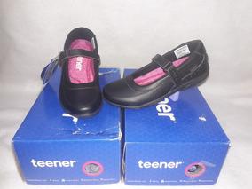 Zapato Escolar De Niña N° 30, 31 Marca Teener