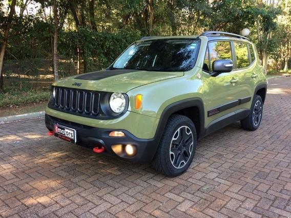 Jeep Renegade Trailhawk 2.0 Verde 2016