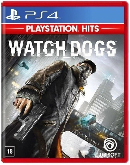Watch Dogs - Dublado - Midia Fisica Original E Lacrado - Ps4