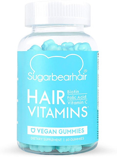 Sugarbearhair Vitaminas 1 Mes 60 Gomitas Sugar Bear Hair