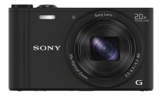 Cámara Sony Compacta Wx350 Con Zoom Óptico De 20x (negro)