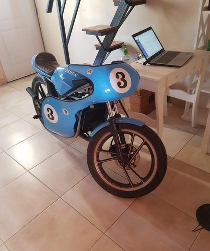 Suzuki Rg 50 2 Tiempos No Honda Ns 50, Cafe Racer Scrambler