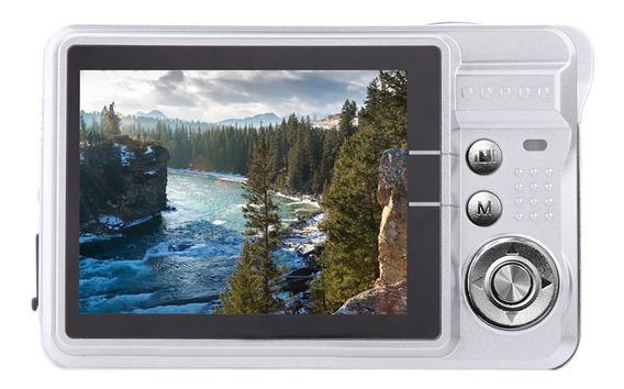 Câmera Digital Hd 18mp 2.7 Tft 8x Zoom Smile Captura