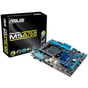 Placa Mãe Asus M5a78l-m Lx/br Matx Ddr3 Socket Am3+