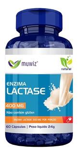 Lactose Enzima 400 Mg 60 Cáps. / Comprando 6 Frete Grátis