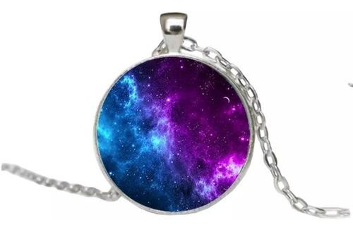 Collar Universo + Brilla En La Oscuridad