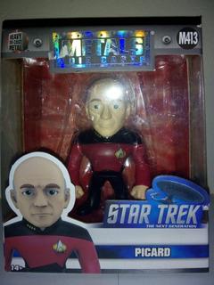 Star Trek Jada Metal Figs Picard Zona Retro Juguetería