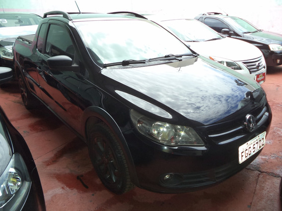 Volkswagen Saveiro Trooper 1.6 Preto 2013
