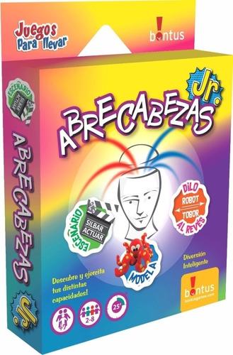 Abrecabezas Juego De Mesa Cartas Viaje Bontus Original