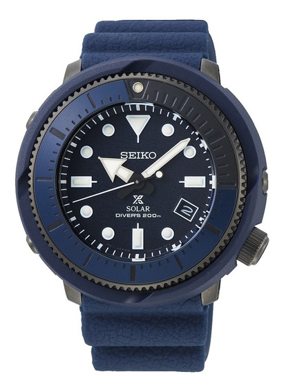 Relógio Seiko Prospex Street Sports Solar Azul Sne533p1