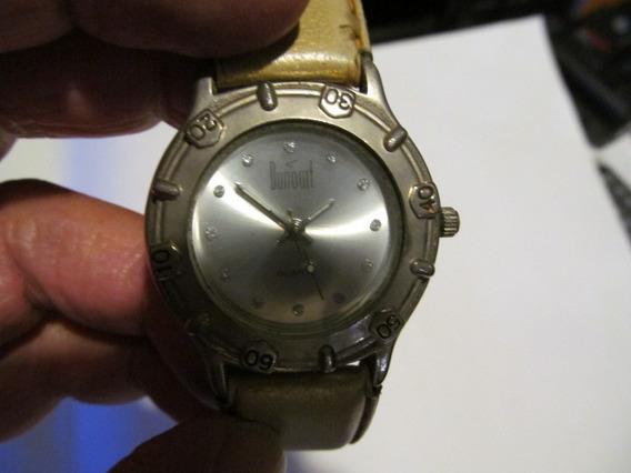 Lindo Relógio Dumont Com Catraca Caixa 35mm Arte Som