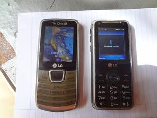 Celular LG Funcionando Tri Chip E Dual