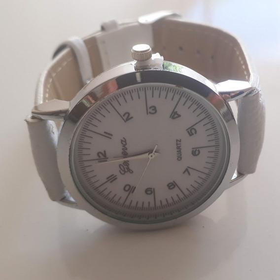 O) Relógio Pulso Geneva Quartzo Analógico Feminino-promoção
