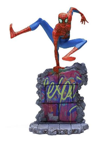 Imagem 1 de 2 de Iron Studios Peter Parker Aranhaverso