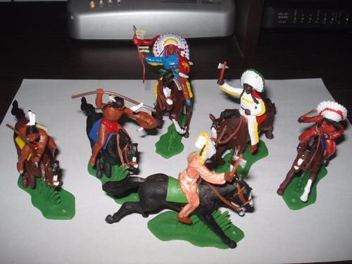 Set De Indios Tipo Britain Caballo Zona Sur/caballito