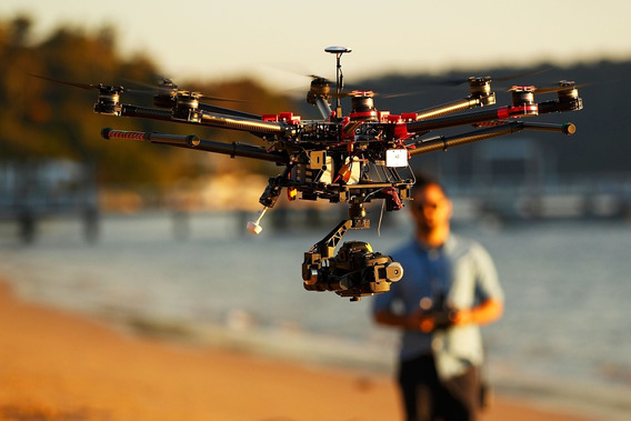 Frame Drone Profissional Dji S1000 Premium