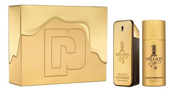 Kit Paco Rabanne 1 Million Masculino 100ml + Deodorant 150ml