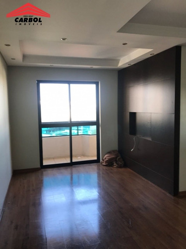 Imagem 1 de 14 de Apartamento Planejado Com 02 Vagas Cobertas - 351194m