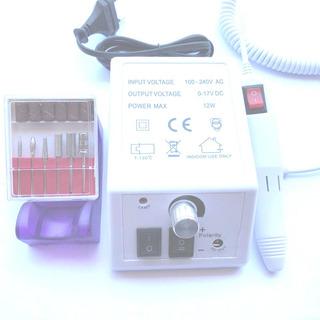 Lixadeira Elétrica Bivolt Mercedes Branco 2000 Rpm