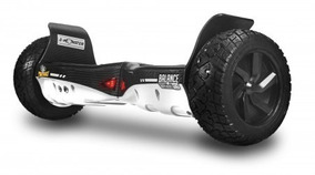Hoverboard Monster Twodogs Branco Carbono