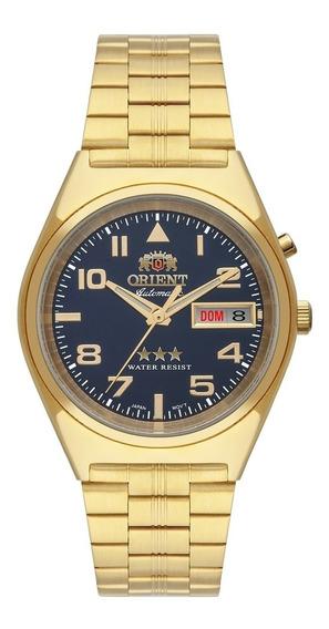 Relógio Orient Masculino Automático Dourado 469gp083 D2kx
