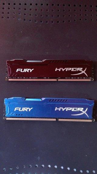 Ram Hyperx 12gb 1333hz Ddr3, Especial Para Gaming