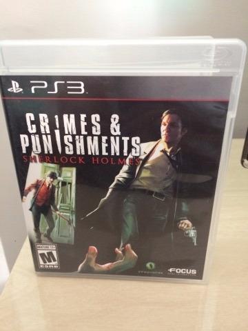 Jogo Sherlock Holmes: Crimes And Punishments Ps3 Play 3