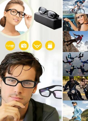 Gafas Lentes Camara Espia Micro Sd Hasta 32 Gb
