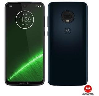 Moto G7 Plus Índigo Motorola Com Tela De 6,24 , 4g, 64gb E C
