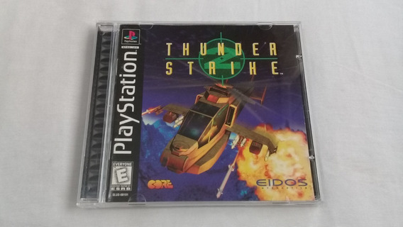 Thunder Strike 2 Black Label Ps1 Original