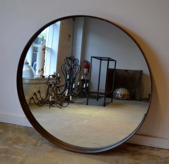 Espejo Redondo Con Marco