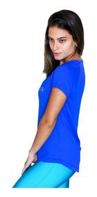 Kit 2 Blusas Plus Size Dry Fit 100%poliamida Corrida Fitness