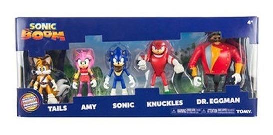 Sonic Muñeco Boom Pack X5 Figuras T22068