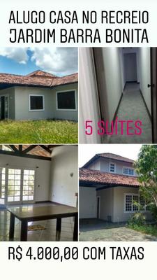Casa 5 Suites Condomínio Fechado Jardim Barra Bonita