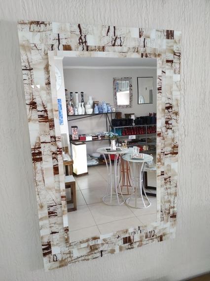 Espelho Em Mosaico De Vidro
