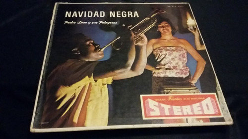 Pedro Laza Y Sus Pelayeros Navidad Negra Lp Vinilo Cumbia