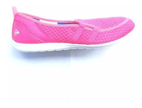 Zapatillas Verano Dunlop Casual Tela Colores Frescas Liviana